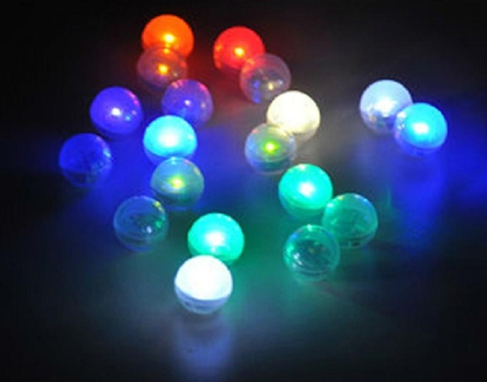 Green fairy mini led lights centerpieces floating