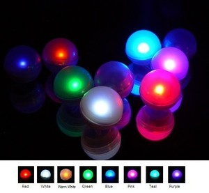 Warm White -120x Fairy Mini Led Lights Centerpieces Floating Decor Waterproof