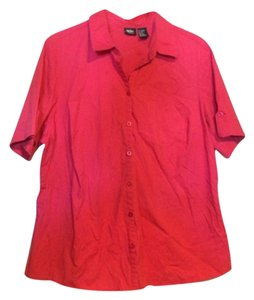 Mossimo Supply Co. Button Down Shirt hot pink