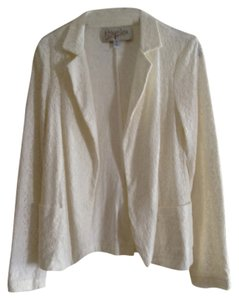 Rory Beca Lace Casual Ivory Blazer