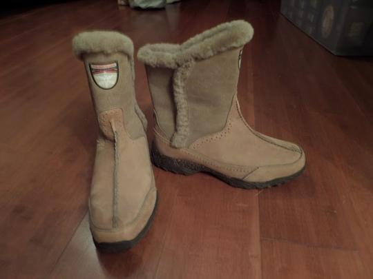 The North Face Tan/Taupe Boots