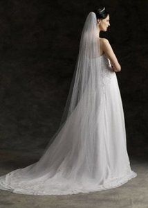 Ivory Beautiful Cathedral Length Veil
