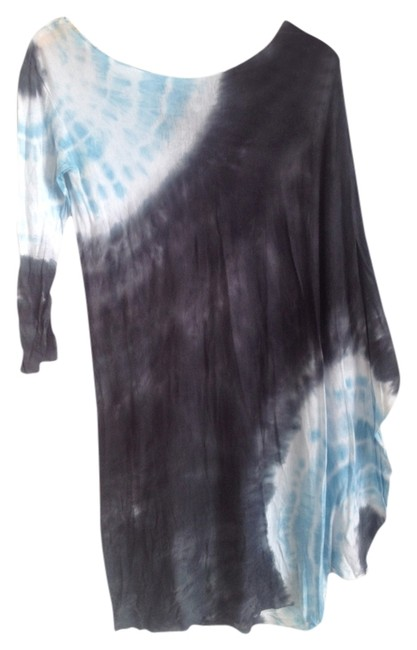 Young Fabulous & Broke short dress Blue Tie Dye on Tradesy