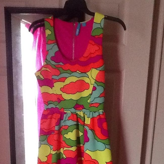 l'amour short dress Neon on Tradesy