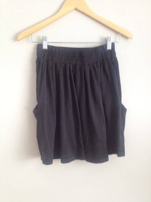 Alternative Apparel Mini Skirt Dark Charcoal