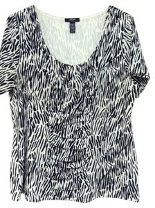 Alfani Top Black/white