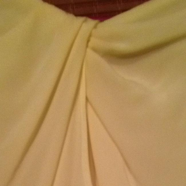 MM Couture Top Pale Neon Yellow