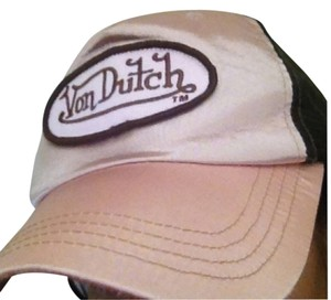 Von Dutch Von Dutch Pink Brown Hat
