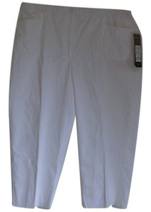 Tribal Capris White