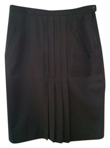 Cacharel Classic Vintage 1960's French Skirt Black