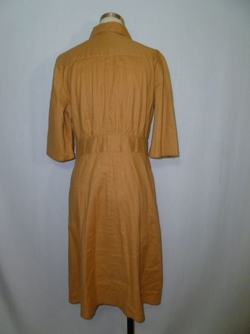 Laundry short dress Golden Brown on Tradesy
