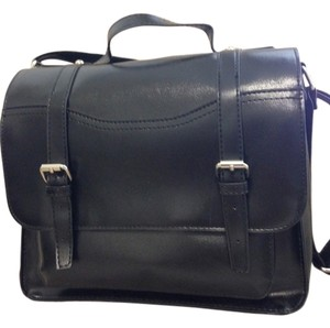 Mossimo Supply Co. Black Messenger Bag