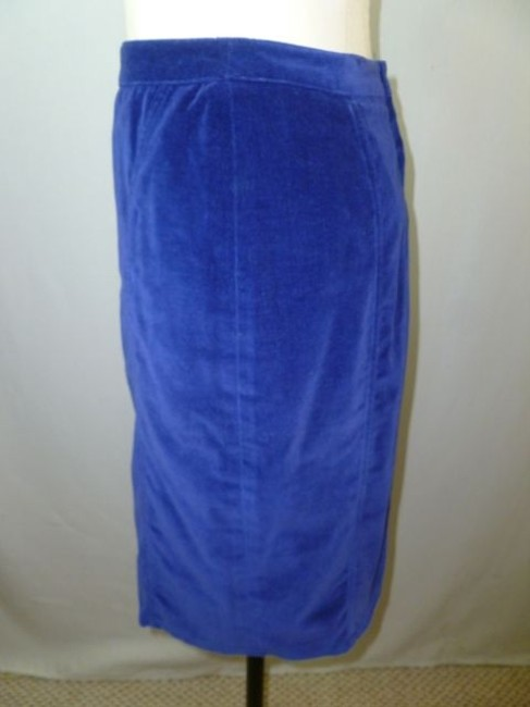 Ann Taylor Skirt Royal Blue