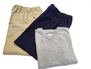 Cherokee Boys 2-Pant & V-Neck Sweater Set ( Size 5 / Age 4.5 -6.5) [ TommiesCloset ]