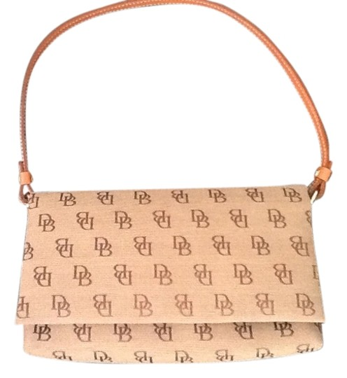 Preload https://img-static.tradesy.com/item/780241/dooney-and-bourke-spring-into-the-season-brown-fabric-baguette-0-0-540-540.jpg