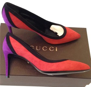 Gucci Red Flame/Nero/Berri Pumps