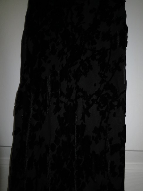Express Lace Burnout Prom Party Full Length Dress