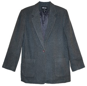 New York & Company Gray Woolblend Suit Jacket