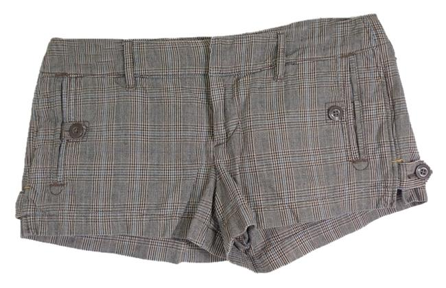 Item - Brown Plaid Fall Collection Shorts Size 4 (S, 27)