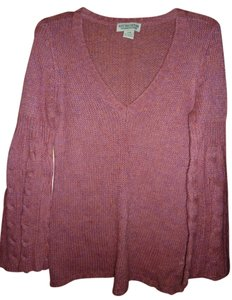 Next Era Bell Sleeves Vee Neck Sweater