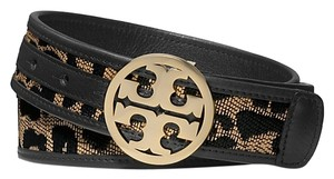 Tory Burch NEW WITH TAGS Tory Burch Animal-Print Raffia SIZE LARGE OTHER SIZES AVAILABLE