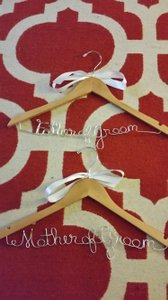 Mother/father Wedding Hangers