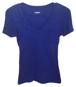 Express T Shirt Royal Blue