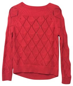 Francesca's Boatneck Textured Hi Lo Hi-low Hi Low Ribbed Crochet Knit Holiday Fall Winter Contemporary Boutique Rare Limited Love Sweater