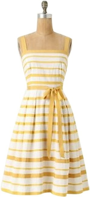 Preload https://item5.tradesy.com/images/moulinette-soeurs-mustard-and-cream-knee-length-cocktail-dress-size-0-xs-780694-0-0.jpg?width=400&height=650