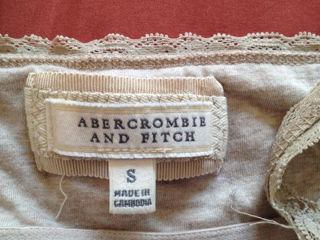 Abercrombie & Fitch Top Tan