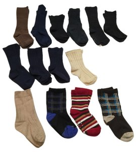 Assorted Pairs Toddler Socks- 15 Pairs ( Age 1-3 ) [ TommiesCloset ]
