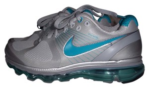 Nike Grey And Aqua Airmax Fitsole 2 Sneakers Size Us 7 61 Off Retail