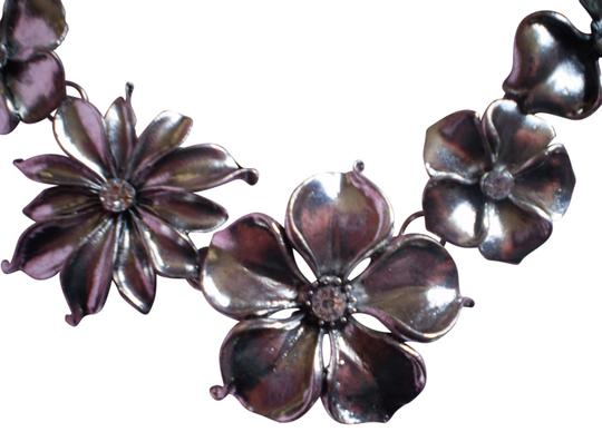 Preload https://item1.tradesy.com/images/silver-new-flowers-wrhinestones-necklace-780865-0-1.jpg?width=440&height=440