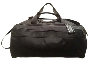 Coach Duffel Gym Yoga Suitcase Tote Carry On School Women's Men's Universal Black Travel Bag