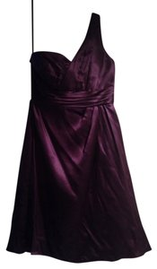 Melissa Sweet One Shoulder Silk Bridesmaid Dress