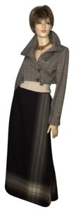 Dana Buchman Maxi Skirt Brown