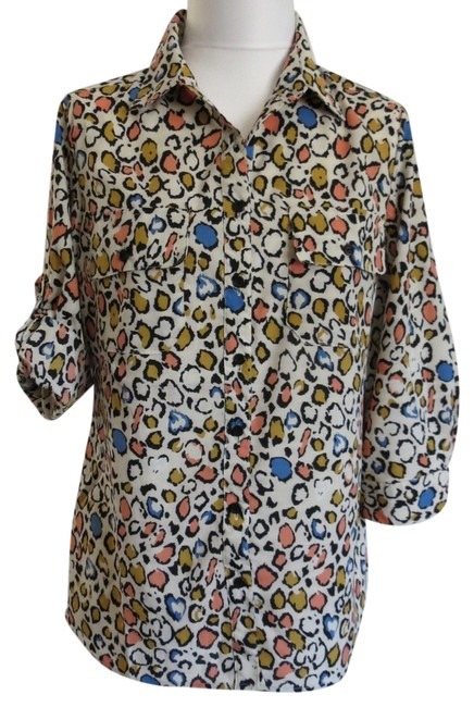 Preload https://item4.tradesy.com/images/notations-animal-print-new-with-tags-medium-blouse-size-10-m-781008-0-0.jpg?width=400&height=650