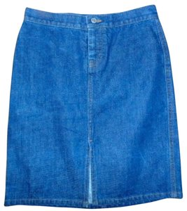 Gap The Skirt Blue Jean Denim