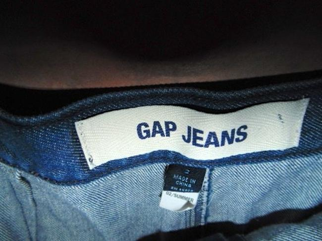 Gap The P362 Skirt Blue Jean Denim