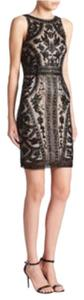 Theia Beaded Column Dress