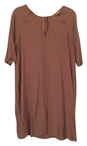 BCBGMAXAZRIA short dress Spanish Moss (Taupe) on Tradesy