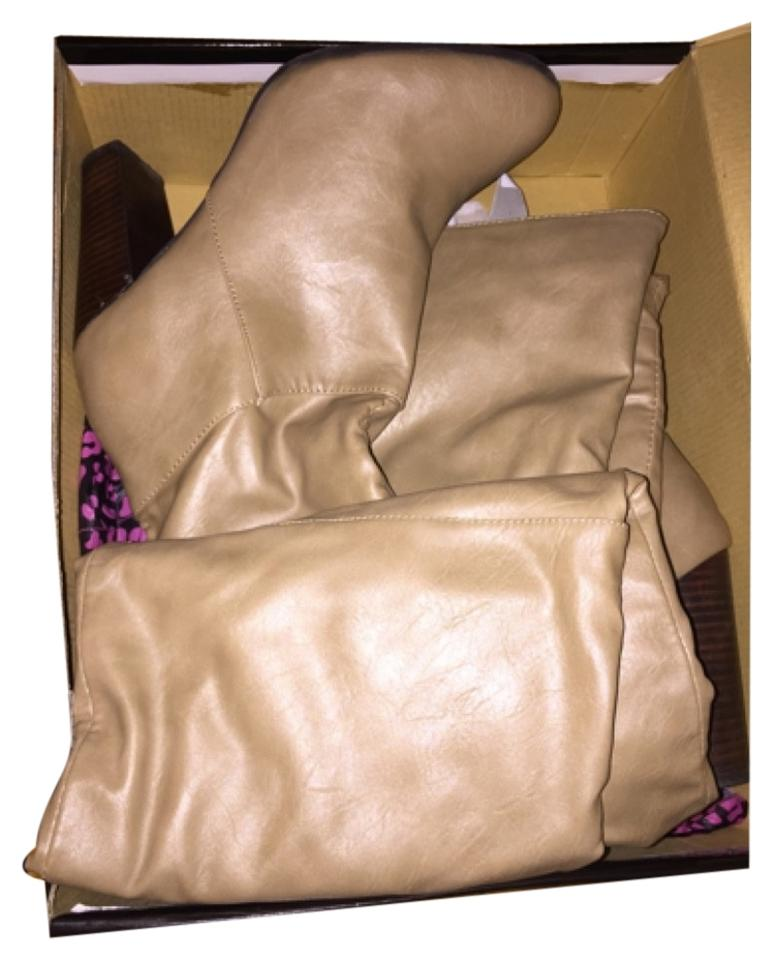 Dollhouse Brown Brown Dollhouse Tan Cream Natural Boots/Booties 61aac7