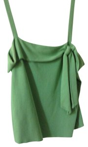 Ann Taylor LOFT Petite Sleeveless Spring/summer Top Green