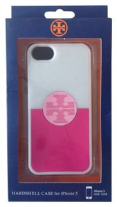 Tory Burch Tory Burch IPhone 5/5s Rubber Case Cover Pink Blue