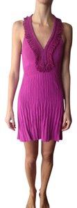 Nanette Lepore short dress fuchsia on Tradesy