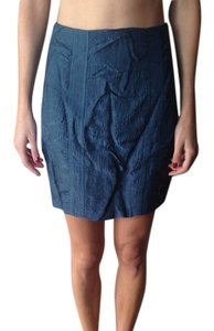 Nanette Lepore Skirt shiny blue