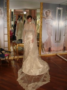 Cristina Fioranelli Wedding Dress