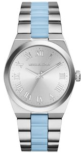 Michael Kors Michael Kors MK6150 Channing Chambray Blue Acetate Silver tone Watch