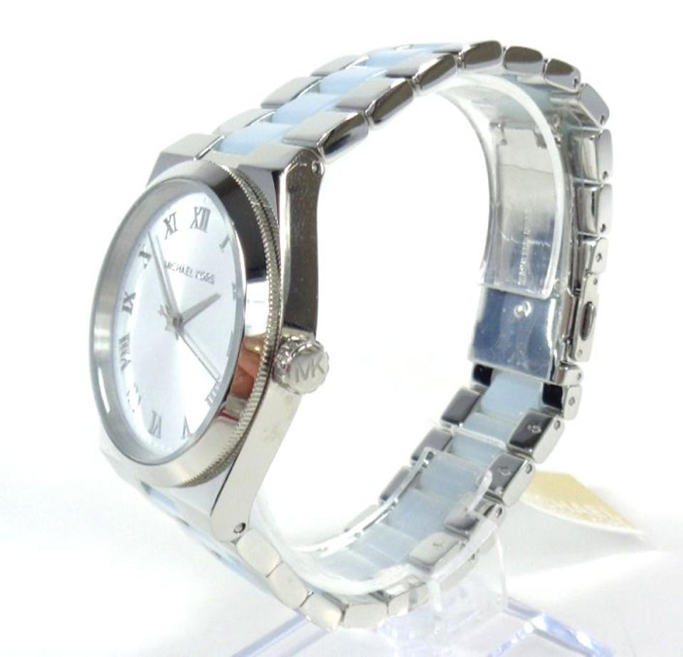 7102147ef550 ... Channing Chambray Blue Acetate Silver tone Watch Image 9. 12345678910