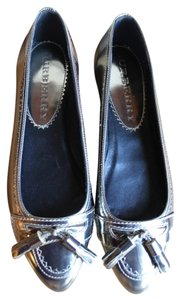 Burberry Bronze Flats